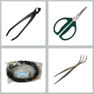 The Bonsai Site's Exclusive 4 Piece Bonsai Tool Kit (BS-01)