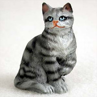 Silver Shorthaired TabbyFigurine