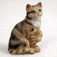Brown Shorthaired Tabby Figurine