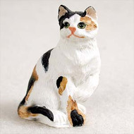 Calico Shorthaired Figurine