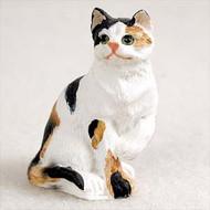 Calico Shorthaired Figurine