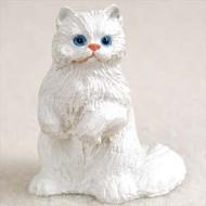 White Persian Figurine