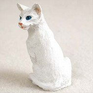 White Oriental Shorthaired Figurine
