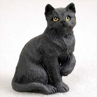 Black Shorthaired TabbyFigurine