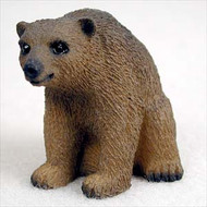Bear Brown Figurine