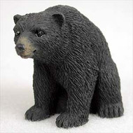 Bear Black Figurine