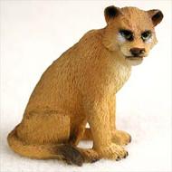 Lioness Bonsai Tree Figurine