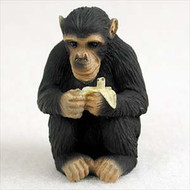 Chimpanzee Bonsai Tree Figurine