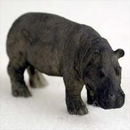 Hippopotamus Bonsai Tree Figurine