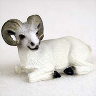 Dahl Sheep Bonsai Tree Figurine