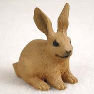 Rabbit Brown Bonsai Tree Figurine