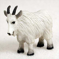 Mountain Goat Bonsai Tree Figurine