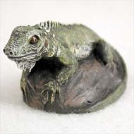 Iguana Bonsai Tree Figurine
