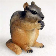 Chipmunk Bonsai Tree Figurine