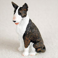 Bull Terrier Brindle Bonsai Tree Figurine