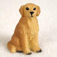 Golden Retriever Bonsai Tree Figurine