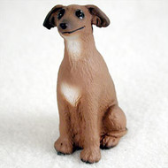 Italian Greyhound Bonsai Tree Figurine