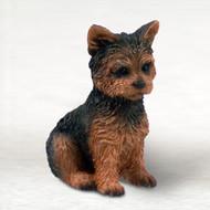Yorkshire Terrier Puppy Cut Bonsai Tree Figurine