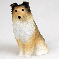 Sheltie Sable Bonsai Tree Figurine