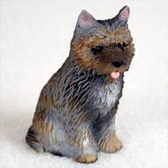 Cairn Terrier Brindle Bonsai Tree Figurine