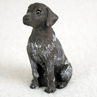 German Short Haired Pointer Bonsai Tree Figurine