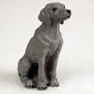 Weimaraner Bonsai Tree Figurine