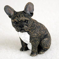 French Bulldog Bonsai Tree Figurine