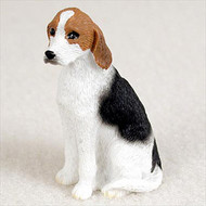American Fox Hound Bonsai Tree Figurine