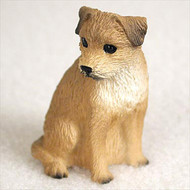 Border Terrier Bonsai Tree Figurine