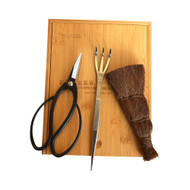 Tinyroots Shear, Broom & Rake Kit. Perfect Beginner Set or For a Gift.