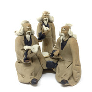 Chinese Figurine - Three Men (F-032)