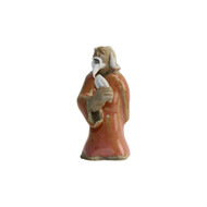 Chinese Figurine - Man Standing with Fish (F-038)