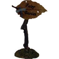Fairy Garden Figurine - Fairy Garden Leaf Sign  (FGF-045)