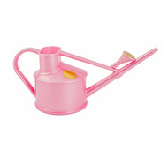 Bonsai Tree Watering Can - Haws | Handy Plastic 1-Pint (Pink)