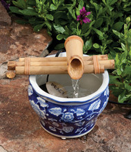 "Bamboo Fountain Kit - 7"" Three-Arm"