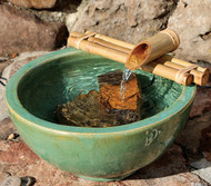 "Bamboo Fountain Kit - 12"" Three-Arm"