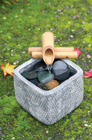 "Bamboo Fountain Kit - 4"" Two-Arm"