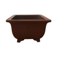"8"" Glazed Yixing Pot (YX523)"