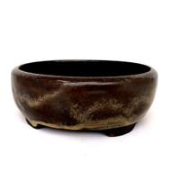 "7"" Andy Arnault Olive Glaze Pot (AA365)"