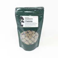 Japanese Tamahi Bonsai Fertilizer Pellets. Specially designed for coniferous bonsai. Available to In Medium and Large Pellets.
