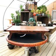 "Medium 17"" Table Handmade in Connecticut"