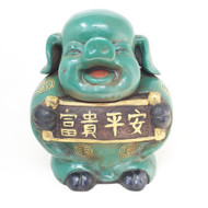 Oriental Prosperity Ceramic Piggy Bank