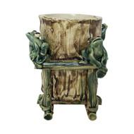Elegant Bamboo Frog Pot