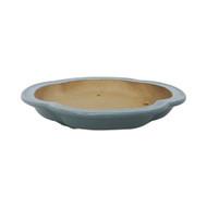 """5"""" Shallow Glazed Yixing Pot (YX895)"""