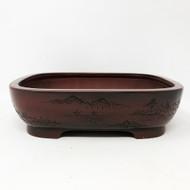 "7"" Bigei Unglazed Tokoname Pot (TK-194) - FREE SHIPPING"