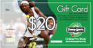 $20 Tennis Gift Card