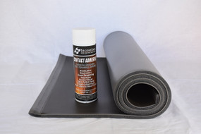 Luxury Liner Pro Single Sheet Bundle w/ Spray Adhesive - Mass Loaded Vinyl + Closed Cell Foam