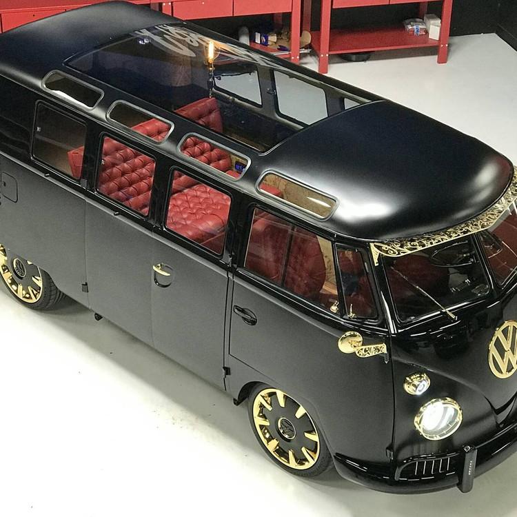 1961 Steampunk VW Bus