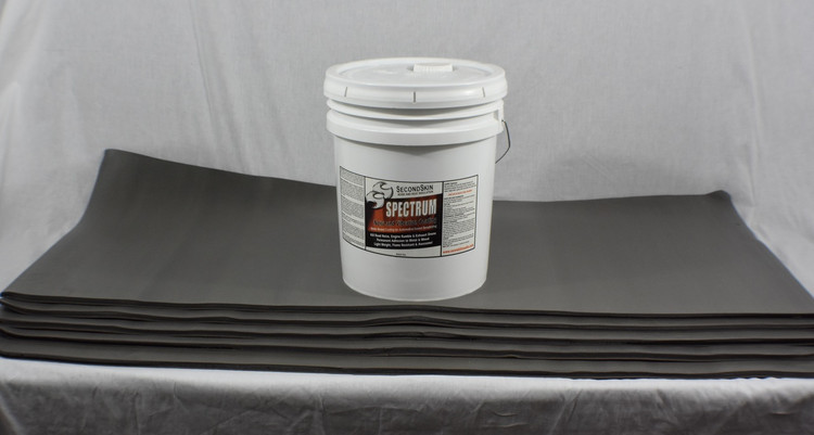 Jeep Kit - 6 Gallons Spectrum + 6 Sheets Luxury Liner Pro