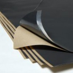 "Damplifier™ 1mm Butyl Vibration Sheets  ( 12"" X 24"") *MADE IN USA*"